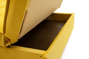 Прямой диван со спальным местом Аккорд-7 с накладками МДФ  Ящик для белья