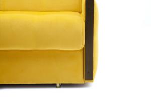 Прямой диван со спальным местом Аккорд-7 с накладками МДФ  Ножки