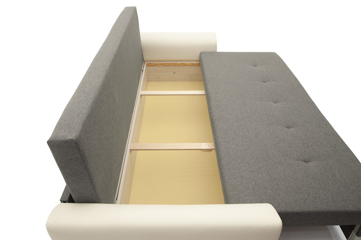 Прямой диван Винтаж Ящик для белья