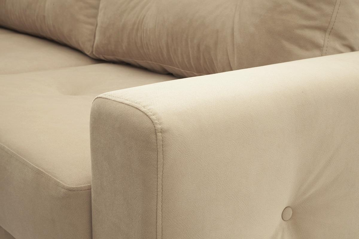 Прямой диван Джерси-6 с опорой №7 Подлокотник