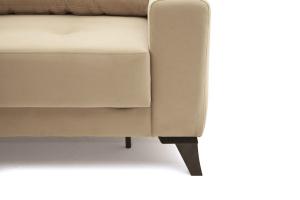Прямой диван еврокнижка Джерси-6 с опорой №7 Ножки