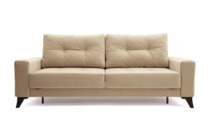 Прямой диван еврокнижка Джерси-6 с опорой №7 Вид спереди