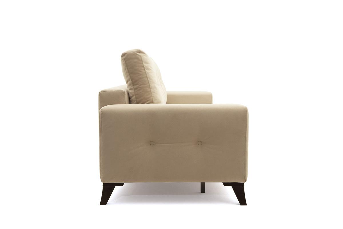 Прямой диван еврокнижка Джерси-6 с опорой №7 Вид сбоку