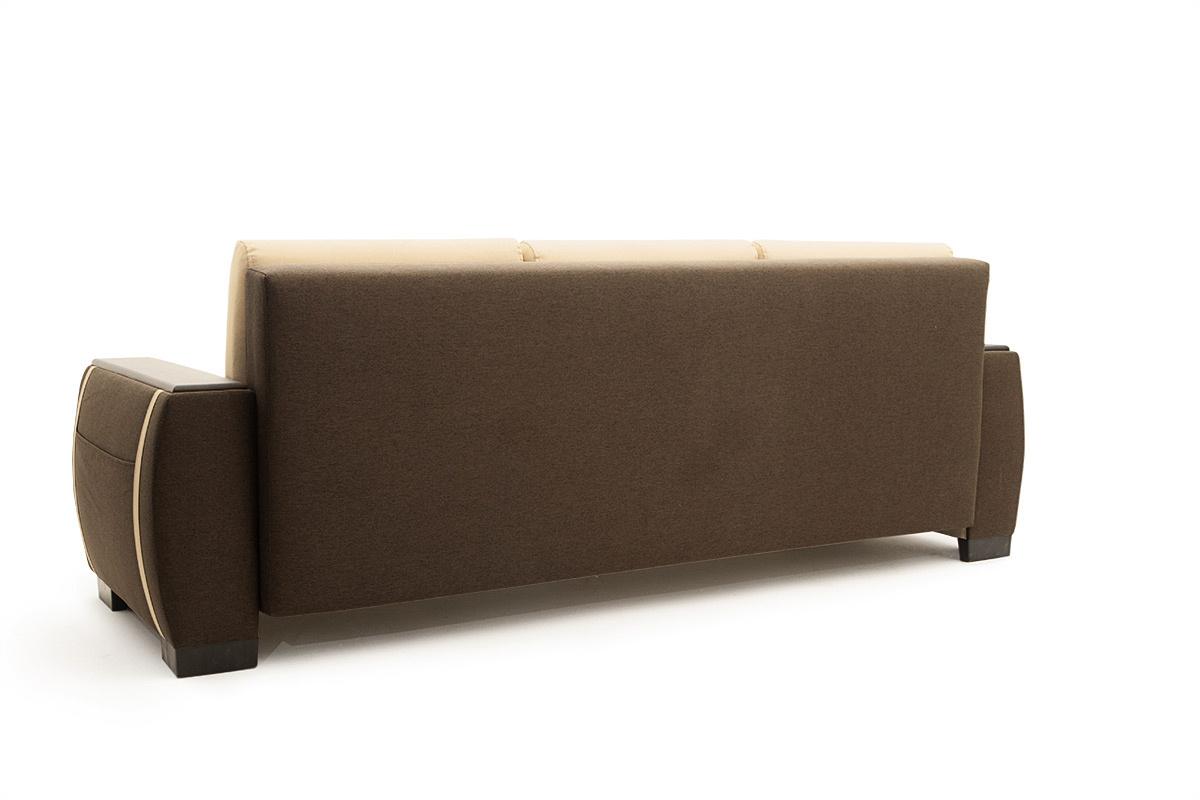 Прямой диван Премьер люкс Вид сзади