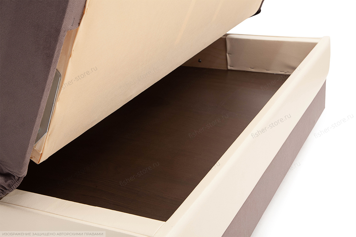 Прямой диван кровать Аккорд  Ящик для белья
