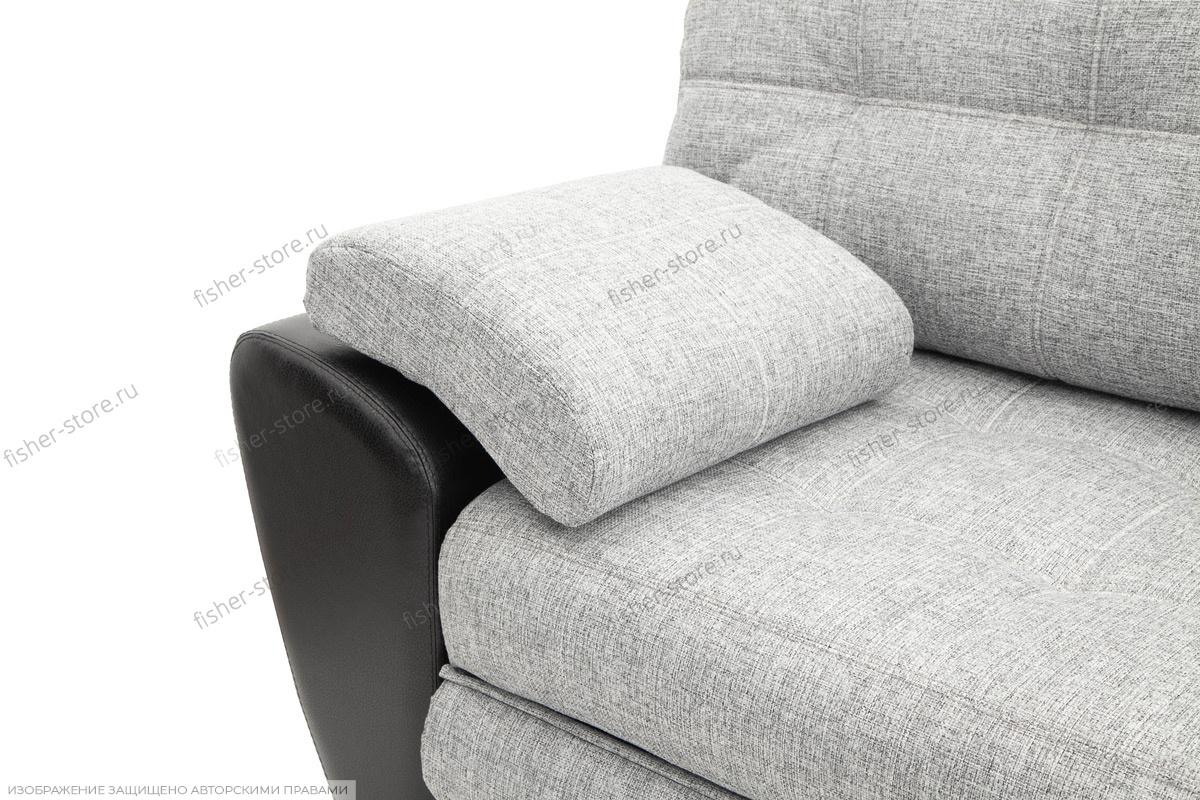 Серый угловой диван Император-2 Подлокотник