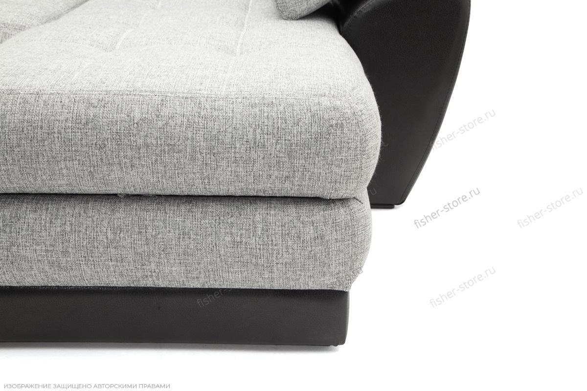 Серый угловой диван Император-2 Ножки
