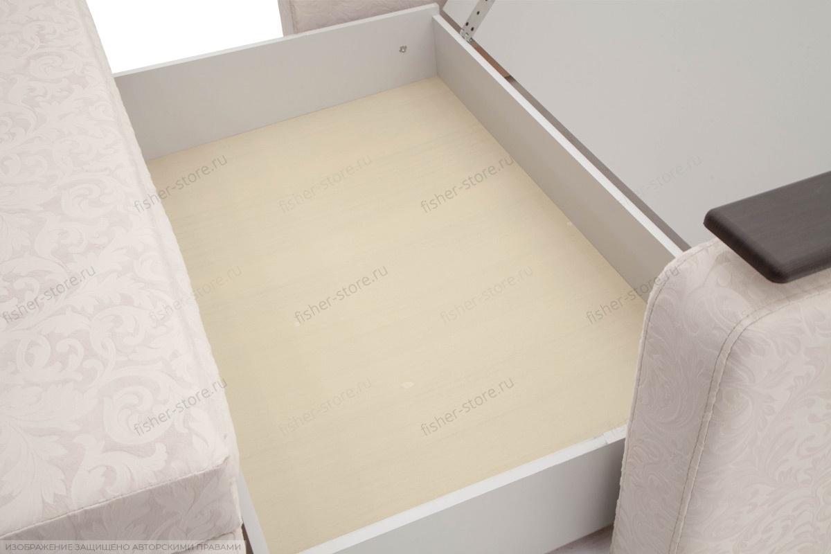 Прямой диван Леонардо Ящик для белья