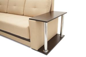 Прямой диван Атланта со столом Подлокотник