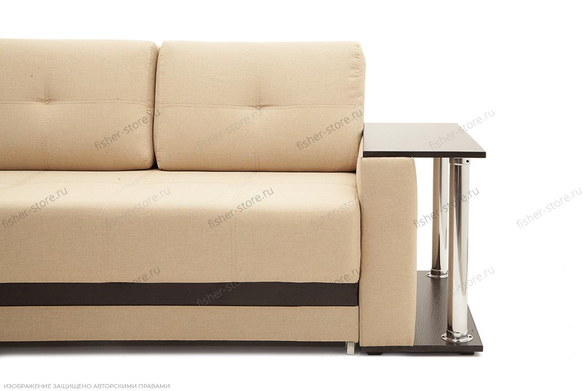 Прямой диван Атланта со столом Ножки