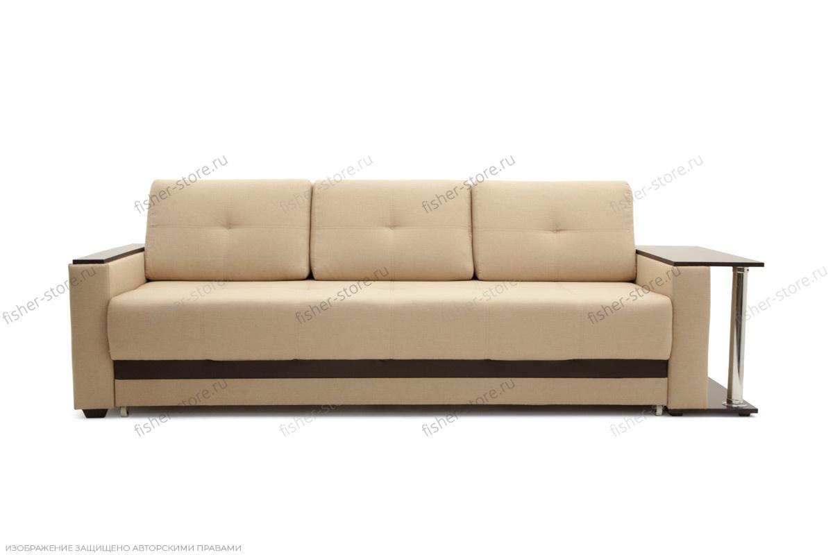 Прямой диван Атланта со столом Вид спереди