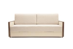 Прямой диван со спальным местом Джексон с накладками МДФ Вид спереди