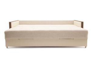 Прямой диван со спальным местом Джексон с накладками МДФ Спальное место