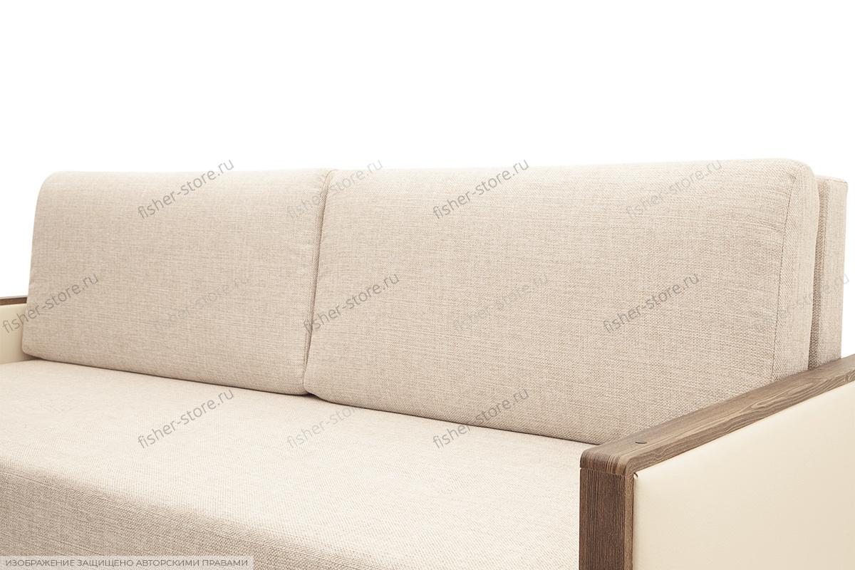 Прямой диван со спальным местом Джексон с накладками МДФ Подушки