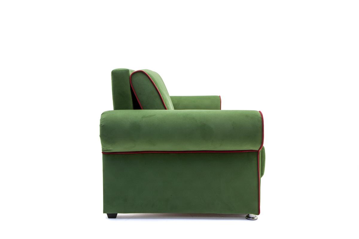 Прямой диван со спальным местом Олимп Вид сбоку