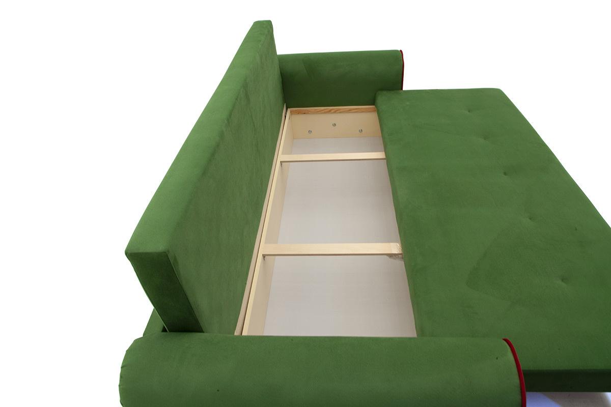 Прямой диван со спальным местом Олимп Ящик для белья
