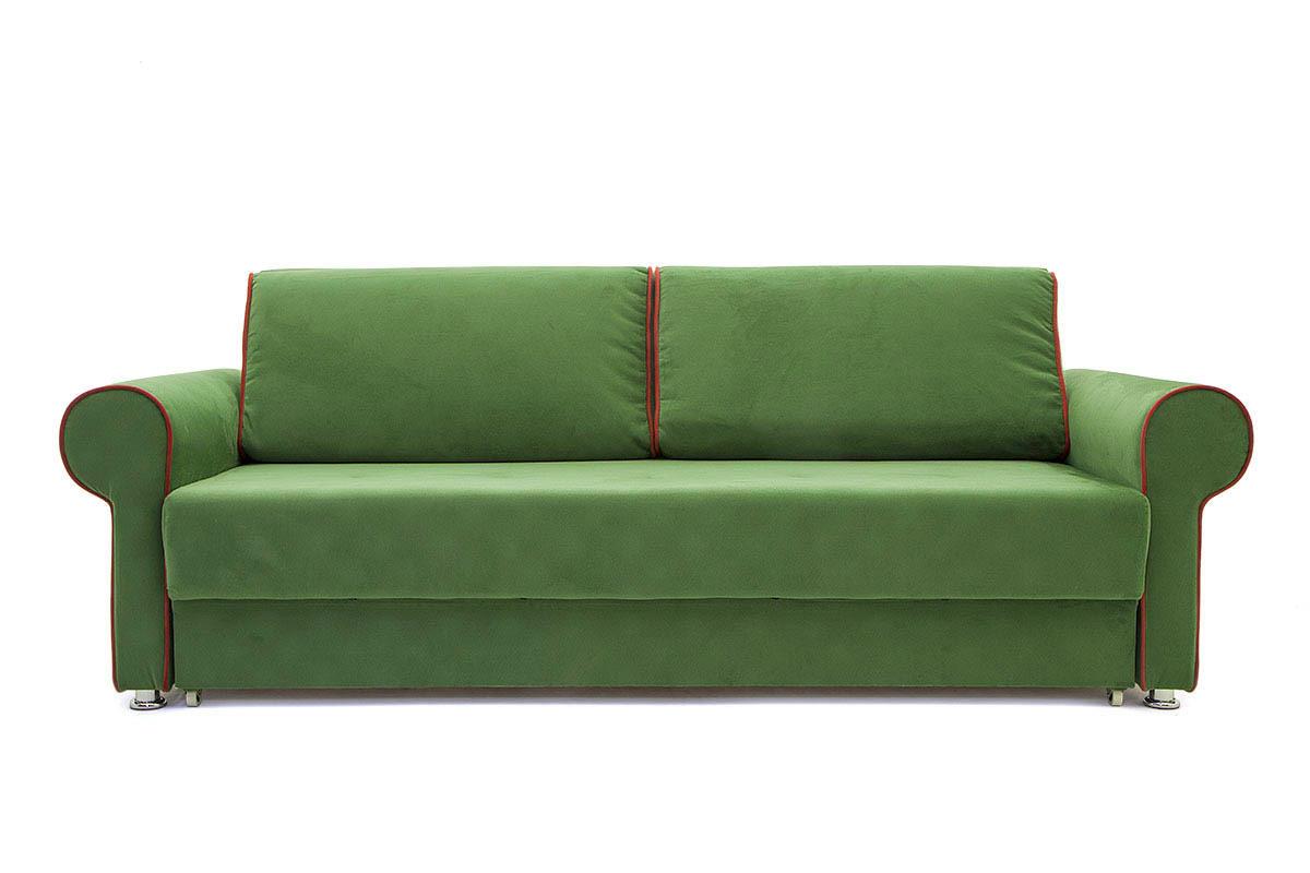 Прямой диван со спальным местом Олимп Вид спереди