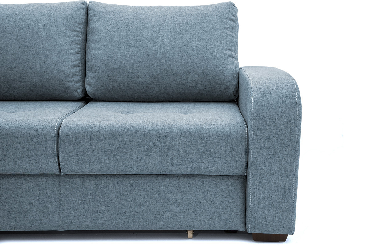 Прямой диван кровать Селена Ножки