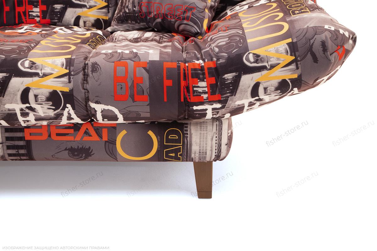 Двуспальный диван Самурай с опорой №3 Ножки