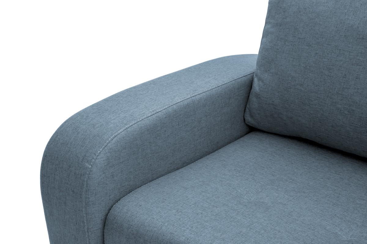 Прямой диван кровать Селена Подлокотник