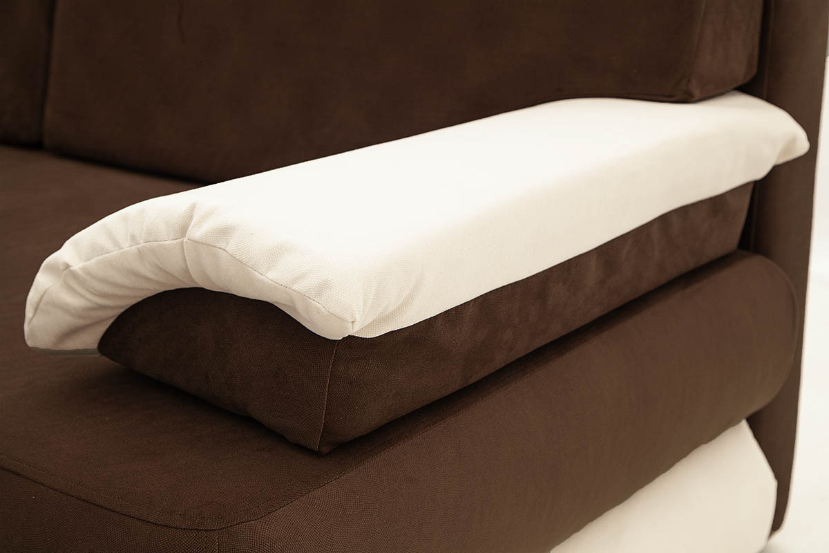 Прямой диван со спальным местом Фиджи Текстура ткани