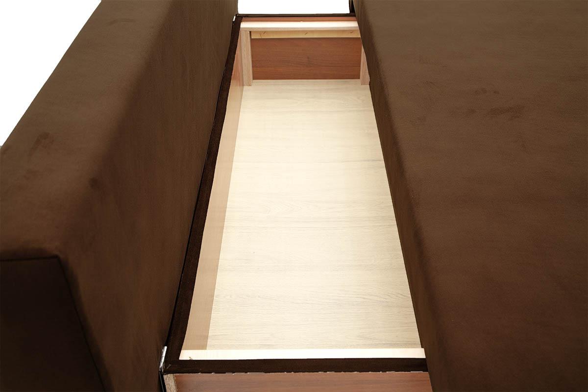 Прямой диван со спальным местом Фиджи Ящик для белья