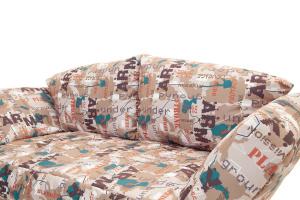 Прямой диван со спальным местом Элис с опорой №1 Подушки