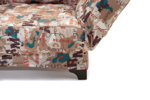 Прямой диван со спальным местом Элис с опорой №1 Ножки