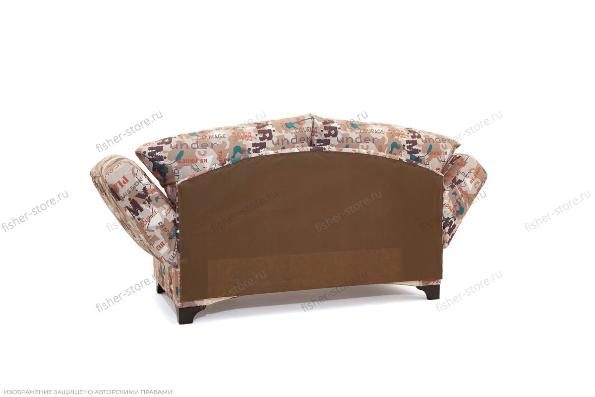 Прямой диван со спальным местом Элис с опорой №1 Вид сзади