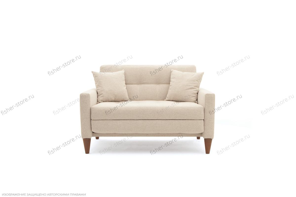 Прямой диван Этро люкс с опорой №5 Вид спереди