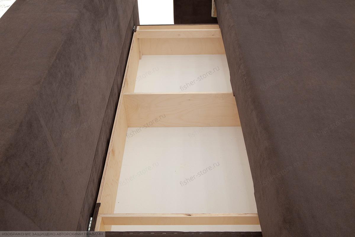 Прямой диван кровать Прага-3 Ящик для белья