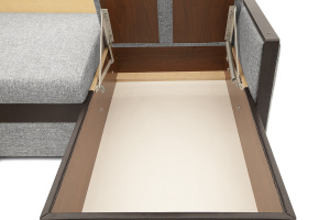 Угловой диван Джексон с накладками МДФ Ящик для белья