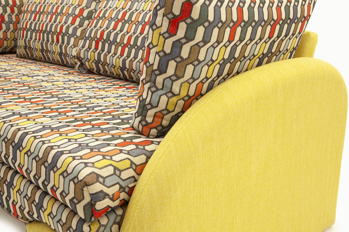 Офисный диван Ода МФ (Leticiya) Текстура ткани
