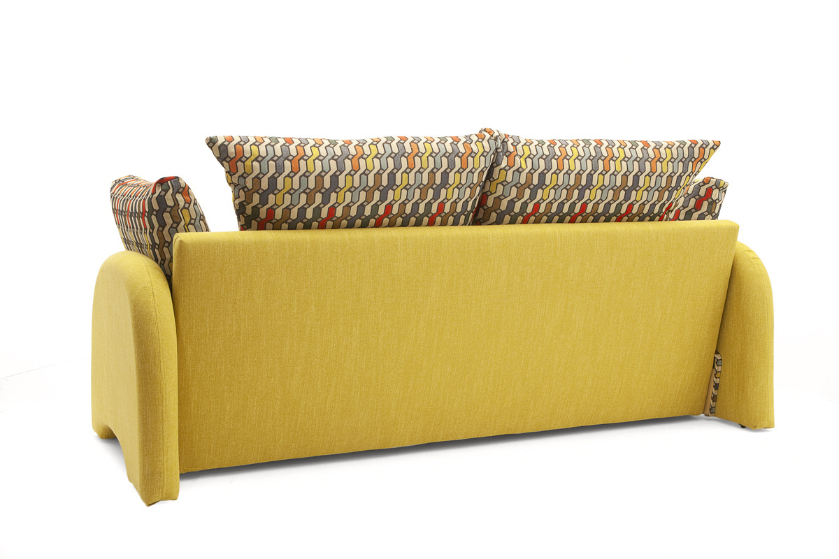 Офисный диван Ода МФ (Leticiya) Вид сзади