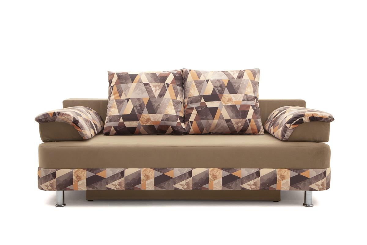 Прямой диван Монтилия-2 Вид спереди