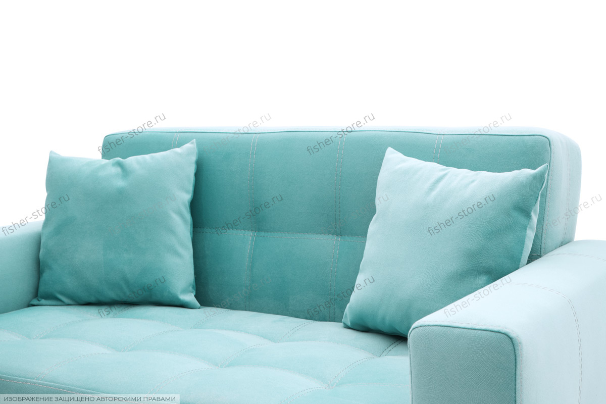 Прямой диван Этро люкс с опорой №1 Подушки