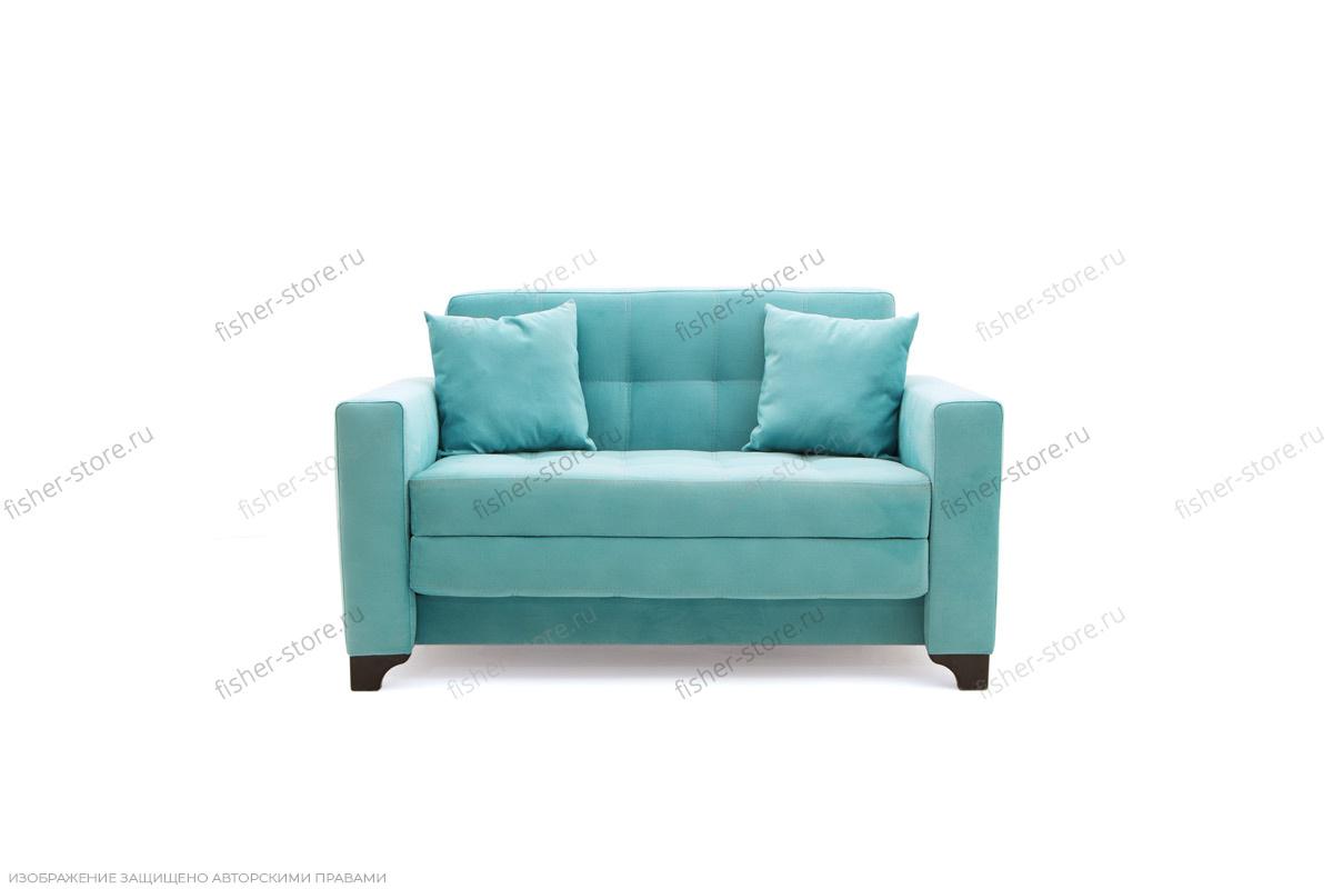 Прямой диван Этро люкс с опорой №1 Вид спереди
