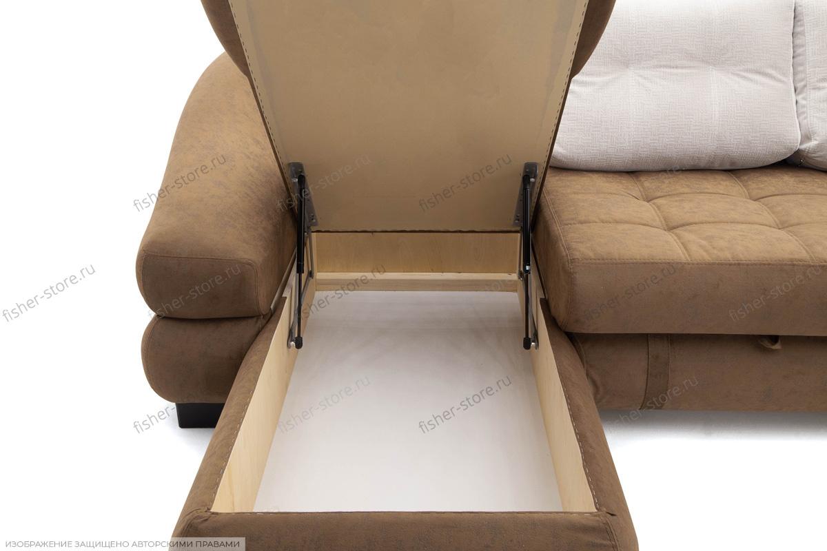 Угловой диван Премиум Ящик для белья