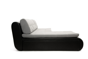 Серый угловой диван Модерн Вид сбоку