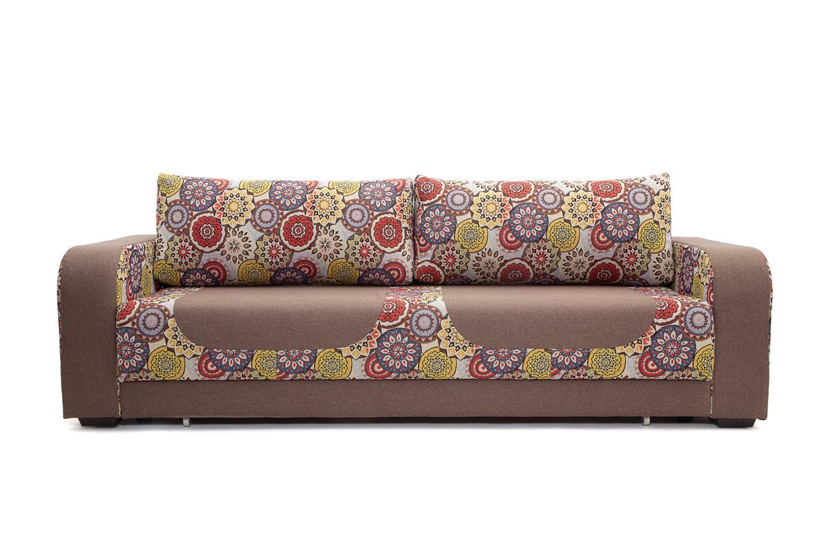 Прямой диван еврокнижка Верона Вид спереди