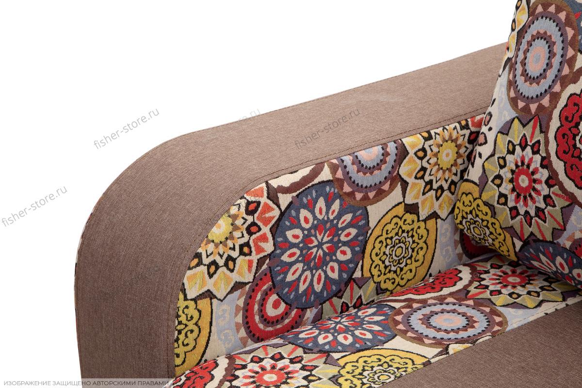 Прямой диван еврокнижка Верона Подлокотник