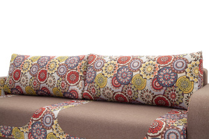 Прямой диван еврокнижка Верона Подушки