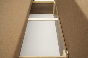Прямой диван Лисабон люкс Ящик для белья