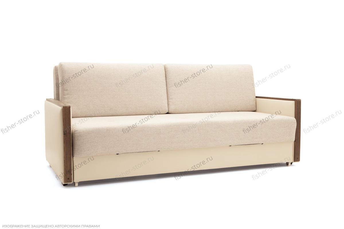 Прямой диван со спальным местом Джексон с накладками МДФ Вид по диагонали