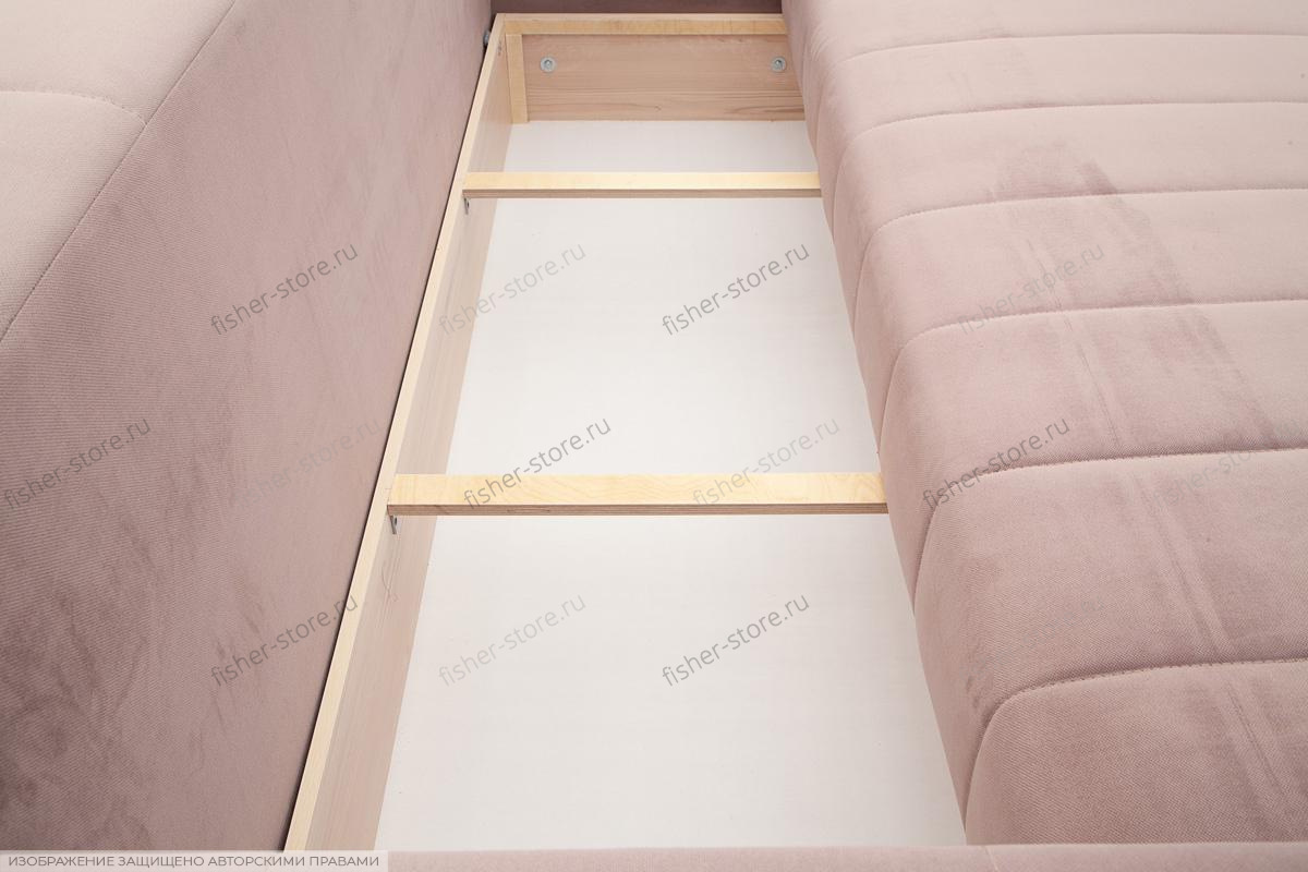Прямой диван Мадлен-2 Ящик для белья
