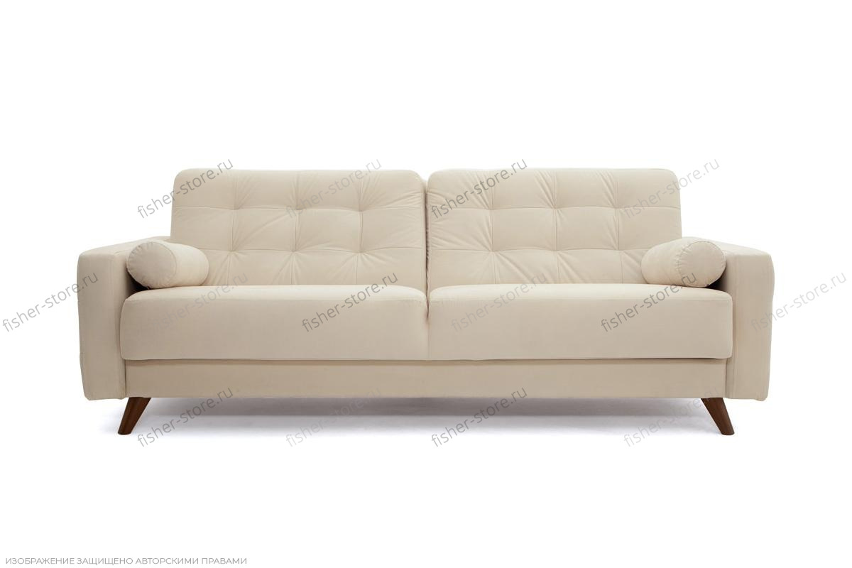 Прямой диван Милано MФ (Акула) Вид спереди