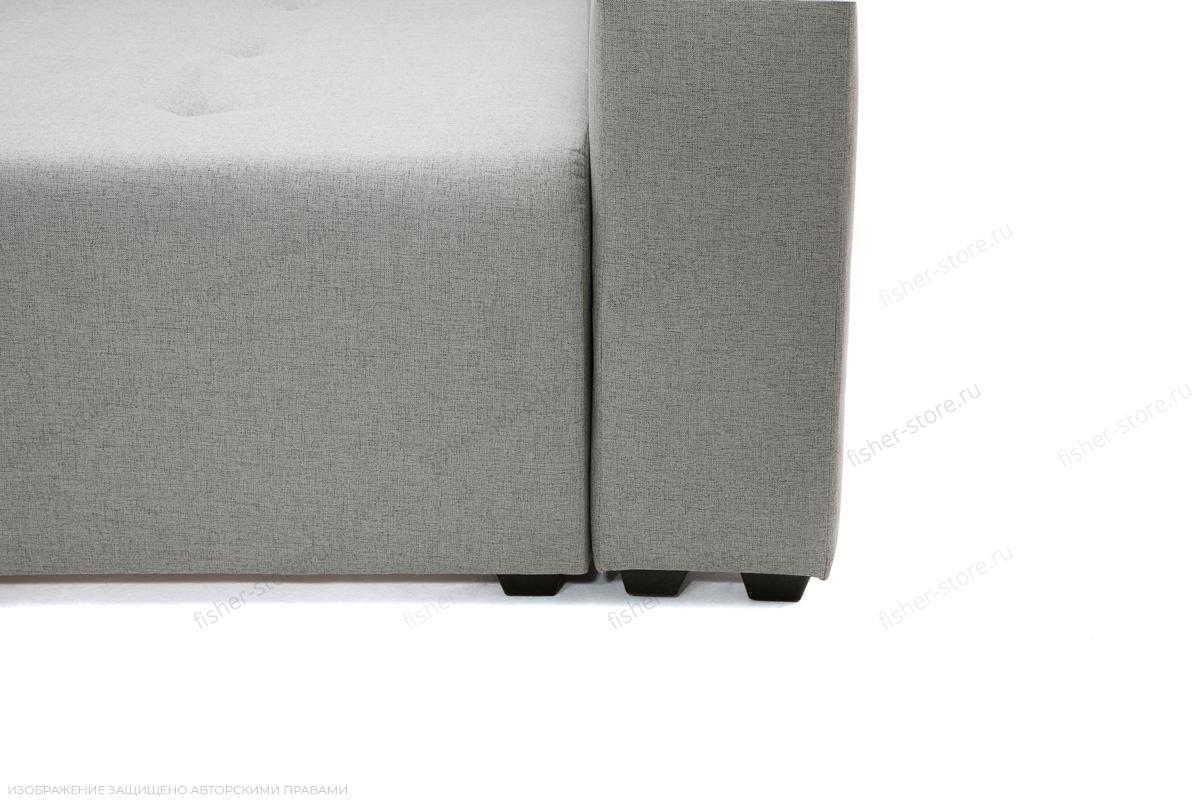 Серый угловой диван Маркиз Ножки