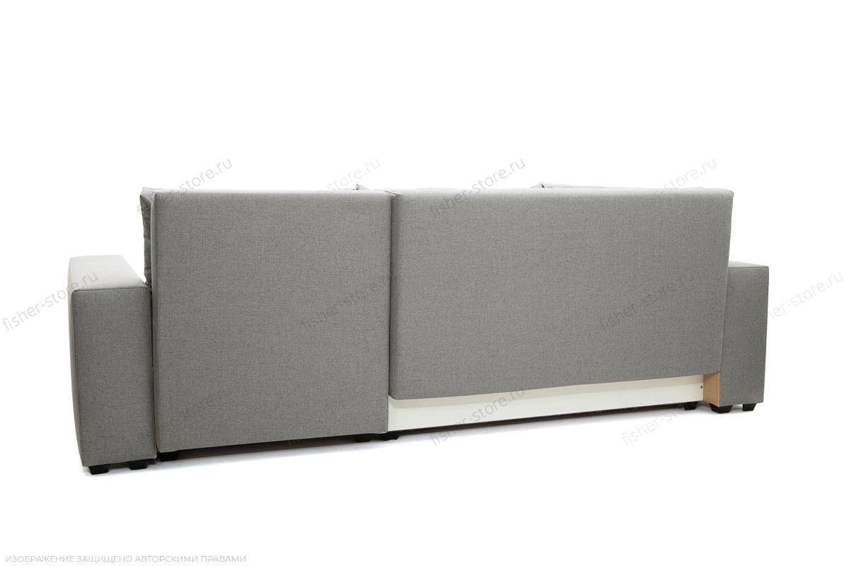 Серый угловой диван Маркиз Вид сзади