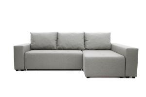 Серый угловой диван Маркиз Вид спереди
