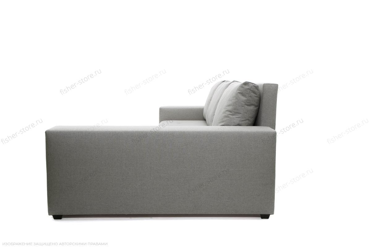 Серый угловой диван Маркиз Вид сбоку